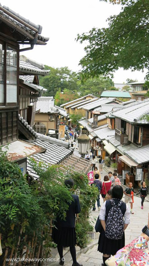 geishe e dello shopping di Gion